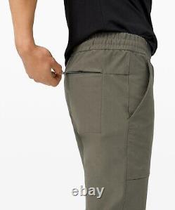 Lululemon Men's Bowline Pant Utilitech GRSG Grey Sage NEW
