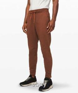 Lululemon Men's City Sweat Jogger Thermo HDTT Heathered Dark Terracotta