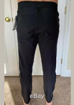 Lululemon Mens Size M License To Train Pant Black BLK Surge ABC DWR Jogger Yoga