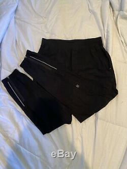 Lululemon Mens Surge Pant Black BLK ABC Jogger Pants Medium M Switch Intent