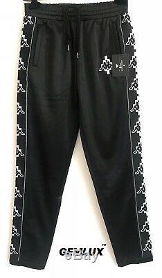 MARCELO BURLON COUNTY OF MILAN x Kappa print track pants Size M RRP £287