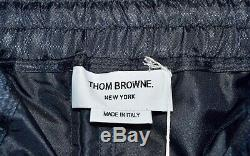 MSRP $1325 NWT New Thom Browne Navy Relaxed Fit Track Joggers Mens Size 1 Small