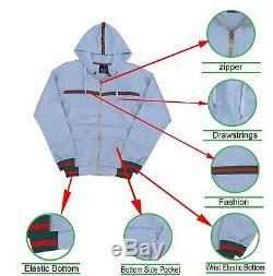 Men Designer Star Warm Fleece Sweatsuit Jogger Bottom S M L XL 2xl 3xl 4xl 5xl