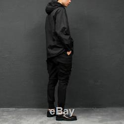 Men's Fashion Techwear Buckle Strap Cargo Pocket Jogger Pants 014, GENTLER SHOP