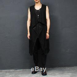 Men's Fashion Techwear Webbing Strap Draped Jogger Pants 012, GENTLER SHOP