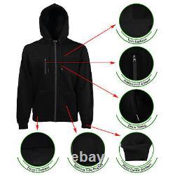 Men's Jogger Tech Suit Fleece Sweatsuit S M L XL 2X 3X 4X 5X Running Gym Jogging