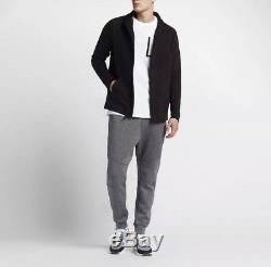 Men's Nike Sportswear Tech Fleece Joggers Carbon Heather LARGE 805162 091