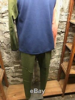 Men's Nike Tech Fleece Jogger Pant NSW (805162-395) Navy/Olive Athleisure NEW