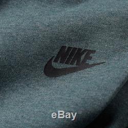 Men's Nike Tech Fleece Jogger Pants Hasta Blue Green Heather $100 New Medium