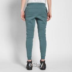 Men's Nike Tech Fleece Jogger Pants Hasta Blue Green Heather Msrp $100 New Small