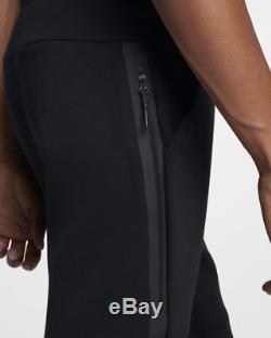 Men's Nike Tech Fleece Slim Fit Jogger Pants Black /black Msrp $100 New XXL