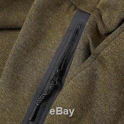 Men's Nike Tech Fleece Slim Fit Jogger Pants Olive / Black Msrp $100 New XL