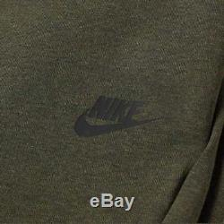 Men's Nike Tech Fleece Slim Fit Jogger Pants Olive / Black Msrp $100 New XXL