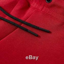 Men's Nike Tech Fleece Slim Fit Jogger Pants Red / Black Msrp $100 New XXL