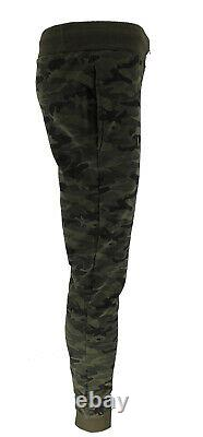 Men's TiM Camouflage Camo Workout Joggers Trousers Pants Sport Sweatpant Bottom