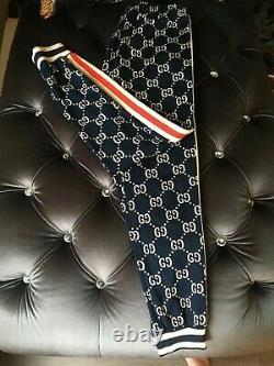 Men's Unisex Gucci Jacquard Jogging pants Sweatpants Joggers Size XS