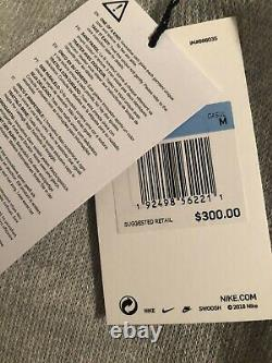 Mens Nike Lab Made In Italy Unique Knit Grey Sweat Pants $300 Msrp
