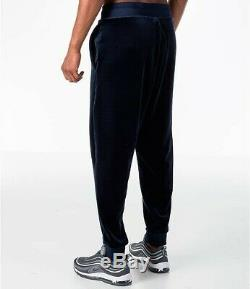 Mens Nike Sportswear Velour Joggers Pants Obsidian Size Large AH3388-451