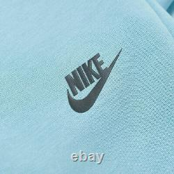 Mens Nike Tech Fleece Joggers Pants Size XL (805162 425) Cerulean Blue / Black