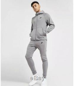 Mens Nike Tech Tracksuit Hoodie Sweathsirt Jumper Track Pant Joggers Fleece M/L