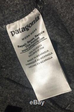 Mens Patagonia Synchilla Snap T Fleece Joggers Forge Grey Medium M RRP£100