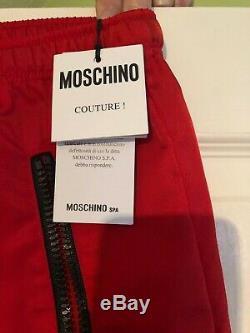 Moschino mens medium Bnwt Joggers Valentino Gucci D&G Philippe Plein Balmain