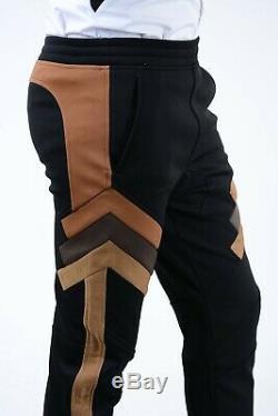 NEIL BARRETT New Man Cotton Skinny Fit Low Rise Drawstring Jogger Pants Sz 46 it