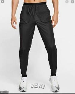 NEW MENS S SMALL NIKE TECH PACK RUNNING BLACK SILVER PANTS CJ5756 010 joggers