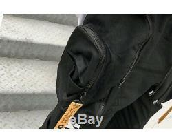 NEW Men's Black OFF White Designer Sweatpants Joggers Cargo Harem Pants Black