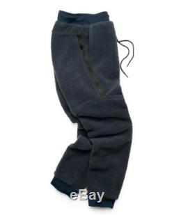 NEW Men's Nike Sportswear Tech Icon Sherpa Jogger Pants Obsidian AQ2769 451
