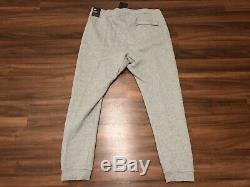NIKE MENs SPORTSWEAR JUST DO IT FLEECE JOGGER PANTS 928725-063 GREY-Size XL
