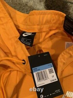 NIKE Men Sportswear Tech Fleece Joggers Kumquat White 805162 886 CHOOSE SIZE