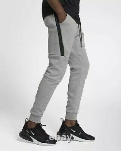 NIKE Men's Gray Heather Tech Fleece Joggers Pants Size Medium New With Tags