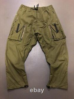 NIKE NIKELAB ACG CARGO PANTS Olive XL (Worn once)
