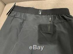 NIKE PHENOM ELITE RUNNING PANTS JOGGERS Men Xs BLACK OREGON PROJECT CK0868-010