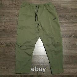 NIKE Sportswear Woven Tech Pants Mens 3XL Twilight Marsh Olive Green Joggers