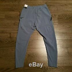 NIKE Tech Pack Tracksuit Sweatshirt pants joggers running blue Mens LARGE MEDIUM