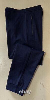 NWT $1025 Giorgio Armani Men Joggers Pants Navy/Blue 34 US (50 Eu) Italy
