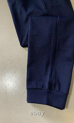 NWT $1025 Giorgio Armani Men Joggers Pants Navy/Blue 34 US (50 Eu) Italy