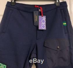 NWT $198 Polo Ralph Lauren Hi Tech Hybrid Climb Ski Jogger Track Pants Men Sz L