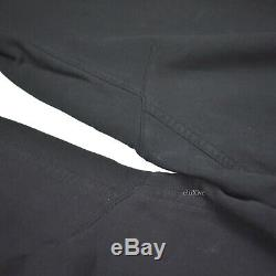 NWT $1.1k Haider Ackermann Men's Black White Cut & Sew Jogger Pants L AUTHENTIC