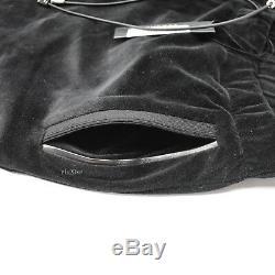 NWT $495 Versace Men's Black Velour Medusa Logo Jogger Track Pants AUTHENTIC