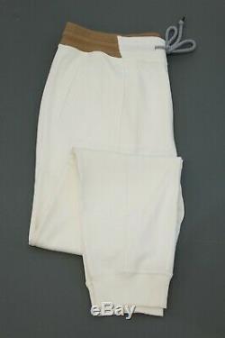 NWT $875 Brunello Cucinelli Men's Cotton Knit Jogger Pants Size XL A196