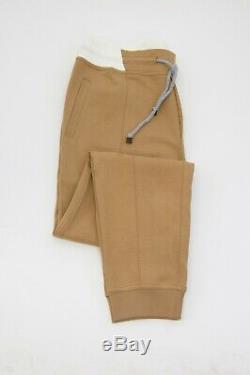 NWT $875 Brunello Cucinelli Men's Cotton Knit Jogger Pants Size XXL A196