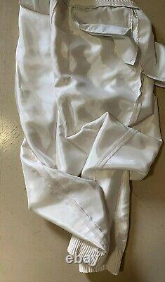 NWT $995 Ermenegildo Zegna Couture Joggers Pants White 36 US (52 Eu) Italy
