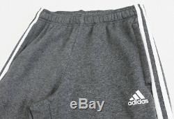 NWT ADIDAS Men's Black Heather Energize Sweatsuit Set Hoodie Sweatpants Joggers