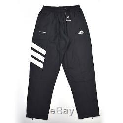 NWT Gosha Rubchinskiy x Adidas Mens Black Logo Track Pants Jogger L DS AUTHENTIC