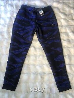 NWT Jordan Flight Tech Camo Pants Joggers Purple Black Men Med. AH6166 494 $130