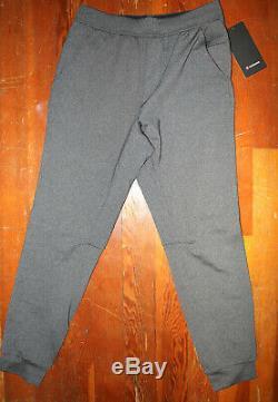 NWT Lululemon Dark Heather Gray Intent Jogger Pants Men's Small