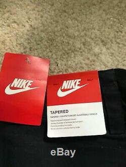 NWT Men's Nike Tech Tapered Jogger Pants Black sz 32 MSRP ($140) 727344
